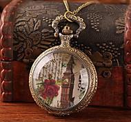 grande do vintage relógio de bolso retro com bronze