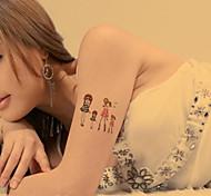 Lovely Innocence Girls Tattoo Stickers Temporary Tattoos(1 pc)