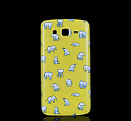olifant patroon deksel fo Samsung Galaxy Grand 2 g7106 case