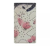 Diamond Sketch Girl Patterns Wallet Card General PU Leather Full Body Case for Gionee Elife E6