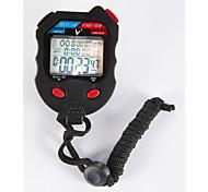 elektronische Stoppuhr pc100d dreireihige 100 Speicher Stoppuhr Stoppuhr Stoppuhr Bewegung Sport-Timer