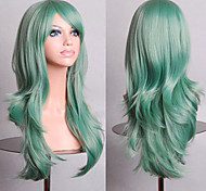 Fashion Color Cartoon Colored Wigs Special Masquerade 70 CM Mint Green Wig