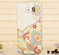 Magic Spider®Cartoon Flowers TPU High Quality Soft Back Case Cover with Screen Protector for Samsung Galaxy S6