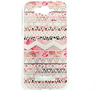 Pink Stripes Pattern Thin Transparent TPU Phone Case for Alcatel One Touch Pop C7