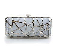 Handbag Silk Evening Handbags/Clutches With Metal Handtaschen