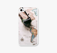 In The Graphics Pattern PC Phone Case Back Cover Case for iPhone4/4S