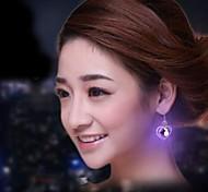 Romantic Glow Heart Shape Earrings