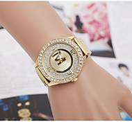 Women's Watches Quartz Watches Swiss Alloy Inner Frosted Diamond Steel Watch Cool Watches Unique Watches