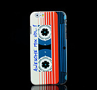 Magnetic tape Pattern Cover for iPhone 6 Plus Case