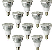 6W E14 LED Spot Lampen 4 High Power LED 530-580 lm Warmes Weiß AC 100-240 V 10 Stück