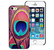Peacock Feathers Design Aluminum Hard Case for iPhone 5C
