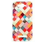 For Alcatel Case Pattern Case Back Cover Case Geometric Pattern Soft TPU Alcatel