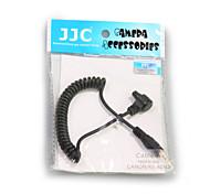 câble à un JJC ligne de connexion câble convertisseur obturateur de la caméra pour canon 7d 5d2 5d3 6d 1DX applicable