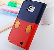 Funny Pu Leather Case for Samsung Galaxy S2  I9100