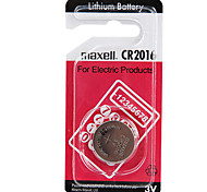 Maxell CR2016 3V High Capacity Lithium Button Cell Batteries (1PCS)