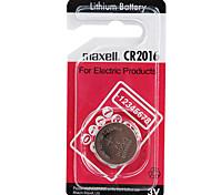 pilas de botón de litio de alta capacidad Maxell CR2016 3v (1pcs)