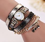 New design women  leather strap watches,set bracelet women dress watches,women  necklace wristwatches