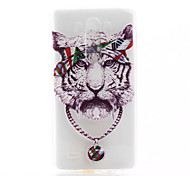 For LG Case Pattern Case Back Cover Case Animal Soft TPU LG