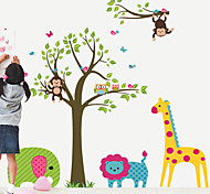 Lovely Animals Party PVC Wall Sticker Wall Decals