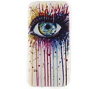 eye pattern materiale TPU soft phone per mini galassia s5