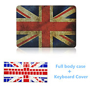 Fashion the Union Jack Design Full Body Hard Case with Keyboard Cover for Macbook Pro 15.4 inch