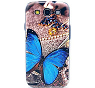 Butterfly Pattern  PC Phone Case  for Samsung S3 I9300