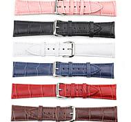 42 mm hebilla de reloj deportivo de patrón de cocodrilo para el reloj de la manzana / iWatch (colores surtidos)