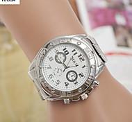 Men'S Quartz Alloy, Switzerland Watch Steel Belt Watch Fashion Cool Watch Unique Watch