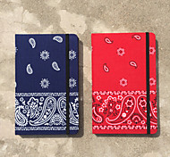 Paisley Bandana Hard Cover Textile Creative Notebooks