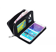 Specially Designed Split PU Leather Wallet Case Full Body Case for Samsung Galaxy Note4