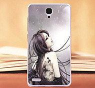 For xiaomi redmi note case Design of coloured drawing or pattern Tpu material of back cover