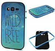 patrón salvaje y libre de plástico / tpu de 2 en 1 diseño caso de la contraportada para Samsung i9060 galaxy grand neo