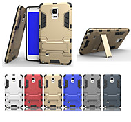 For Samsung Galaxy Note Shockproof / with Stand Case Back Cover Case Armor PC Samsung Note 5 Edge / Note 5 / Note 4