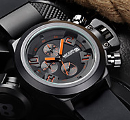 MEGIR®Brand Men's Popular Watches Date Chronograph Sport Watch Men Guaranteed Military Watch Silicone Wristwatch Fashion