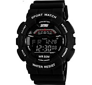 SKMEI® Men's Sporty Digital Watch Calendar/Chronograph/Alarm/Water Resistant