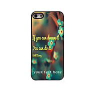 Personalized Gift You Can Do it Design Aluminum Hard Case for iPhone 5/5S