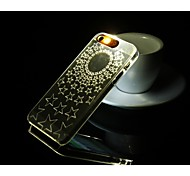Fashion callerid Luminous Phone Case Creative Back Flashlight Phone Shell For iPhone 6 Cases stars pattern