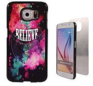 het geloof ontwerpen aluminium koffer voor Samsung Galaxy s6