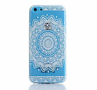 Sunflower Pattern TPU Phone Case For iPhone 5C