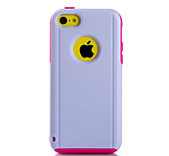 Super Protection TPU+PC 2in1 Combo Shell Protective Sleeve for iPhone 5C  (Assorted Color)