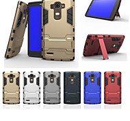 LG G4 Plastic / TPU Back Cover / Cases with Stand Special Design case cover