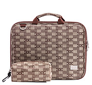 Laptop Briefcase Bag With Double-Sided Waterproof Layer for Macbook or Other Brands Notebook Use