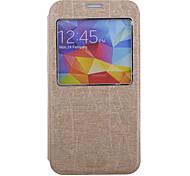 Fenêtre cas flip en cuir pour les Samsung Galaxy S i9600