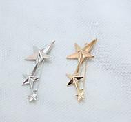 Three Star Barrettes