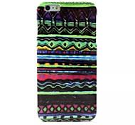 patrón de capas TPU caso suave para el iphone 6 más