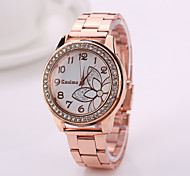 Fashion  Geneva Women Watches  2015 New Alloy Steel Quartz Watches WomanWatch Brand Analog Watches Top Quality
