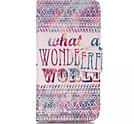 Decorative Patterns Pattern Retro Quality PU Material Case for iPhone 6