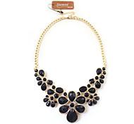 Fashion  Flower Gem Necklaces(2Color)