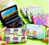 Цвет отправляется в случайном порядке - Пластик - Милый стиль/Деловые/Многофункциональные - Держателей кредитных карт -
