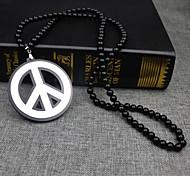 Peace Disk Hiphop Necklace